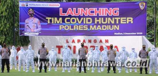 Luncurkan Tim Covid Hunter untuk Tekan Penyebaran Covid-19 di Kabupaten Madiun