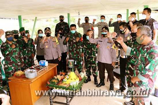 HUT Kodam V, Momen Sinergikan TNI-Polri Jaga Keamanan Kota Batu
