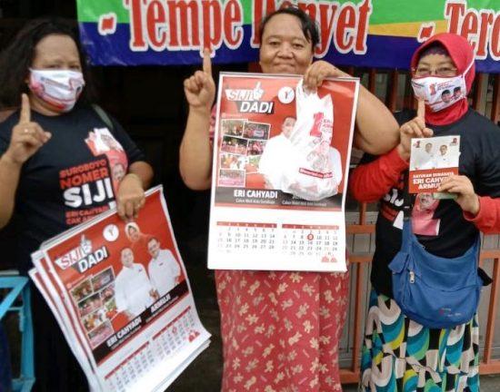 Menjemput Kemenangan, Tim Eri-Armudji Kian Massif Bergerak Kunjungi Pemilih