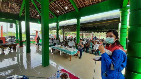PEPC Sosialisasikan Tahapan Well Test Jambaran Central ke Warga Desa Kaliombo