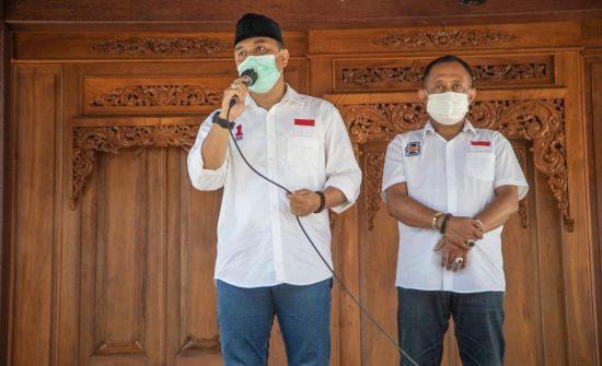 Eri-Armudji Komitmenn Selaraskan Pembangunan Surabaya dengan Program Jokowi
