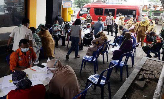74 Orang Masuk Kabupaten Probolinggo Di-Rapid Test Antigen Hari Pertama