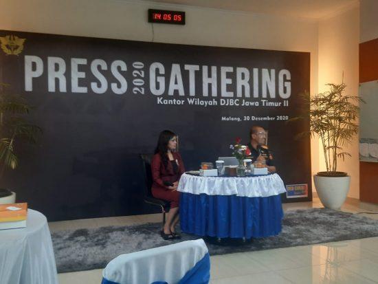 2020, Capaian Kinerja Kanwil DJBC Jawa Timur II Lampaui Target