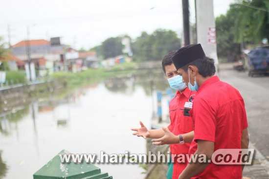 Paslon Kelana Astutik Bakal Membuat Sungai dan Lingkungan Jadi Nyaman