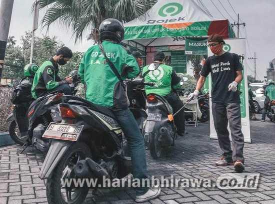 18.391 Layanan Ojol Dukung Pendistribusian Barang di Lumbung Pangan Jatim
