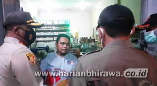 Ratusan Warga Terjaring Operasi Yustisi Langgar Jam Malam di Kota Mojokerto