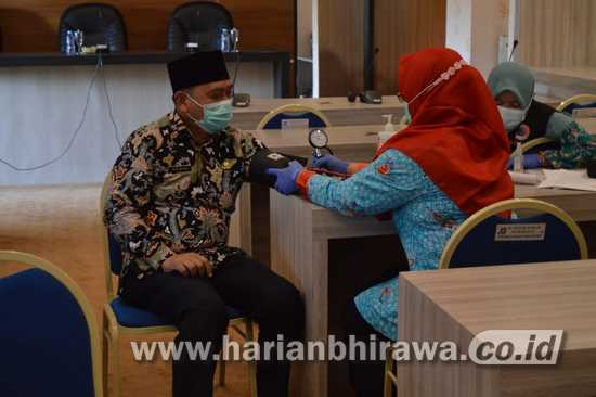 Wabup-Forkopimda Situbondo Jalani Tes Swab dan Medical Check Up