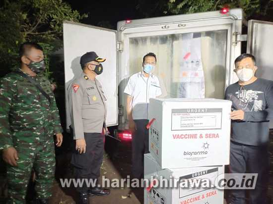 3.000 Vial Vaksin Sinovac Tiba di Kabupaten Situbondo
