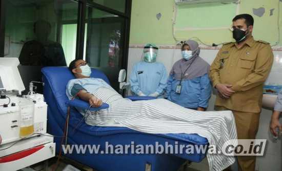 RSUD Dr Mohamad Saleh Buka Layanan Donor Plasma Konvalesen