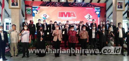 Wali Kota Sutiaji Ajak Indonesia Marketing Association Cerdaskan Bangsa