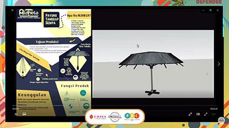 Libatkan SMA/SMK, Gelar Produk Desain Contest Penanggulangan Bencana