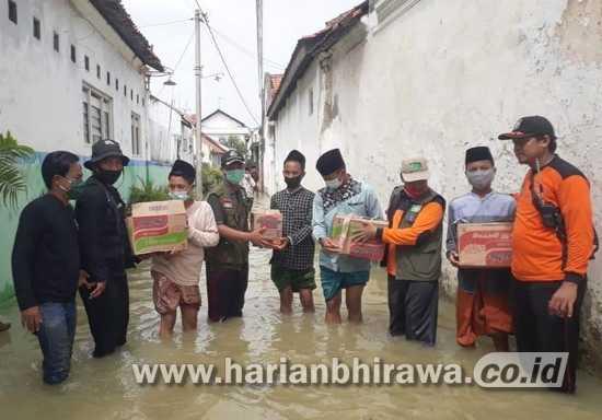 BPBD Jawa Timur Gandeng LPBI-NU Kirim Bantuan Banjir Sampang