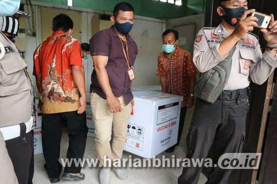 Distribusi Vaksin Covid-19 di Surabaya Raya Tuntas