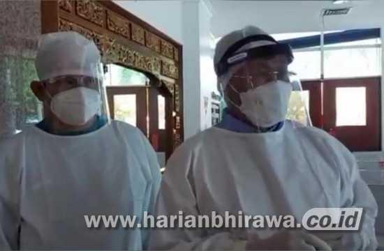 Pj Bupati Sidoarjo Hudiyono Manfaatkan Liburan dengan Kunjungi Rumah Sakit