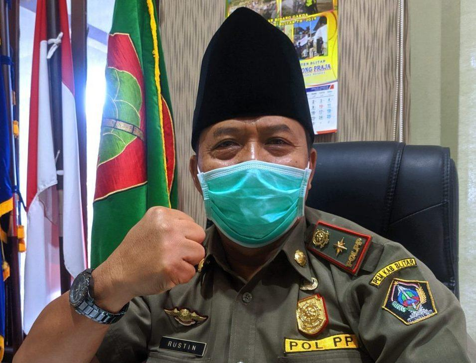 Jalan Kanigoro dan Wlingi Kabupaten Blitar Ditutup Selama PPKM