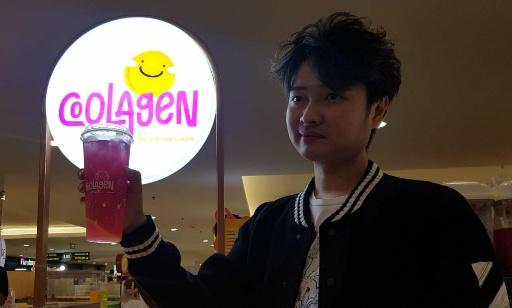 Melvin Tenggara Awali Buka Gerai Minuman Sehat di Surabaya, Target Rp150 Juta Perbulan