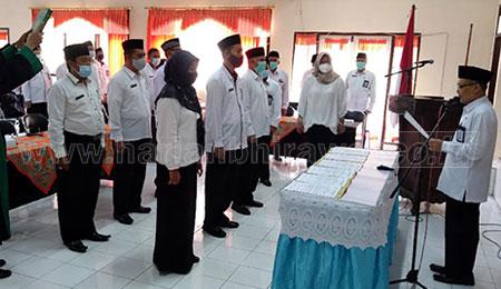 Penyegaran, Enam Kepala Madrasah di Mutasi