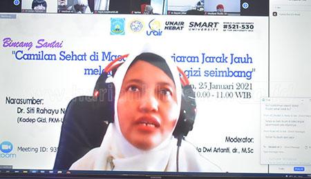 SD Mudipat Gelar Bincang Santai Camilan Sehat di Masa PJJ
