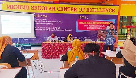 SMK Sepuluh Nopember Menuju Sekolah Center of Exellence