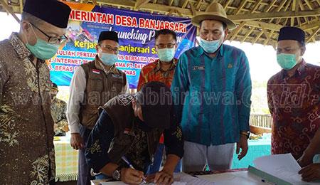 Gandeng Unwaha dan Baznas, Desa Banjarsari Bakal Dijadikan Smart Village