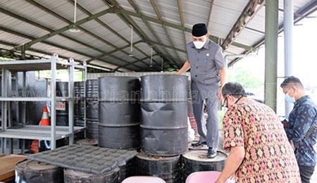 Pj Bupati Sidoarjo Minta Dinas PU BM Lakukan Perbaikan Jalan Rusak