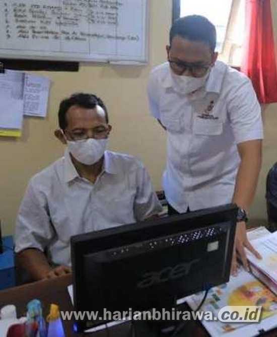 Tim Cyber Polres Madiun Kota Awasi  Hoax Vaksin Covid di Medsos