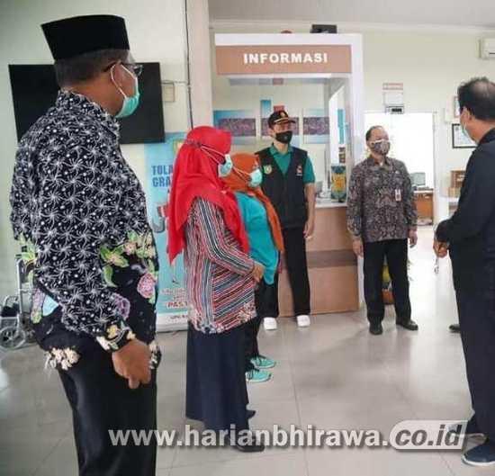 Tinjau Pelaksanaan PPKM Kota Madiun, Pendekar Waras Supervisi Keliling OPD