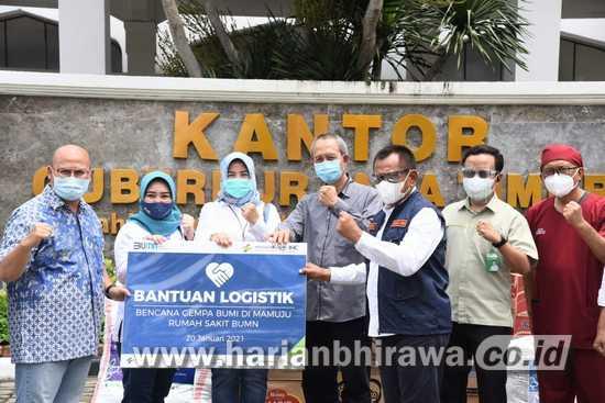 Bantuan Kemanusiaan Korban Gempa Sulbar Mengalir dari Jatim