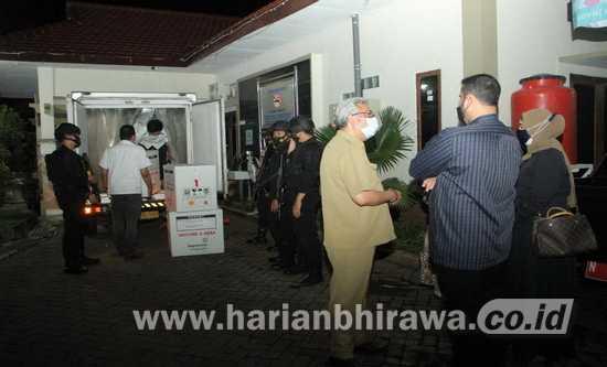 4480 Dosis Vaksin Sinovac Tiba di Probolinggo Raya