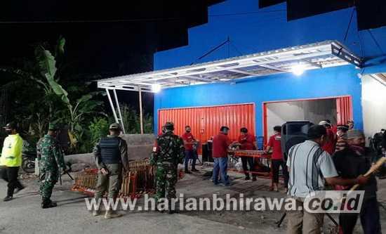 Langgar Prokes, Pertunjukan Angklung di Brabe Maron Probolinggo Dibubarkan