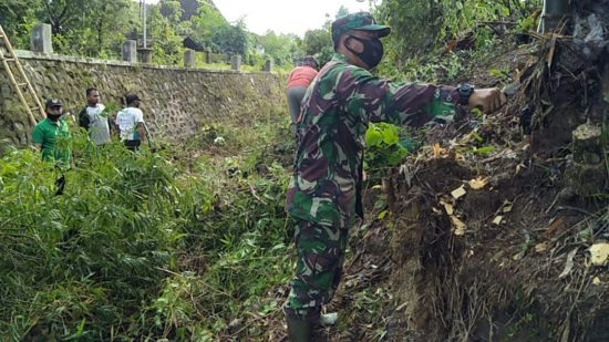 Babinsa Kodim 0802/Ponorogo Harus Aktif Membantu Masyarakat  di Wilayah Binaan
