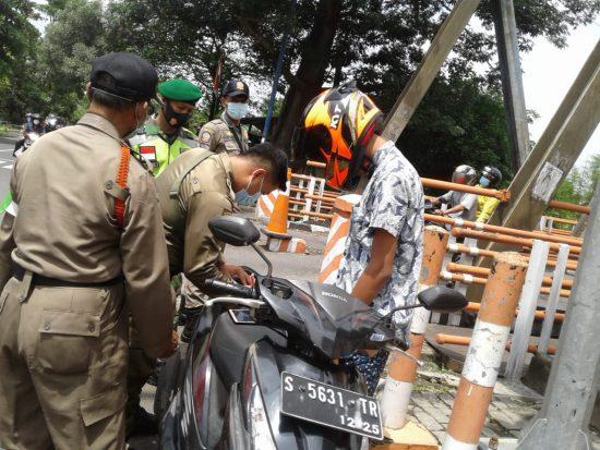 600 Personel 0815 Mojokerto Bantu Penertiban Prokes Selama PPKM