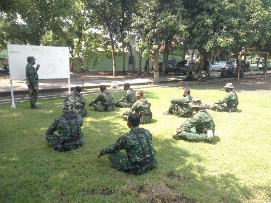 500 Personel Kodim 0815 Mojokerto Diuji Latihan Perorangan Dasar