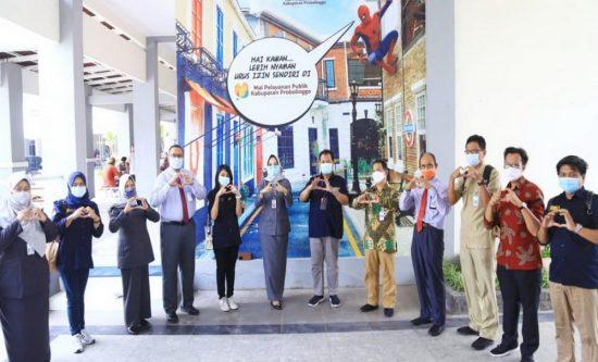 Tingkatkan Inovasi Layanan Publik, MPP Kabupaten Probolinggo Dimonitor Bakorwil V dan Kominfo Jatim