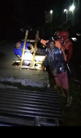 Diguyur Hujan Deras, Sungai Bedadung Jember Meluap, Ratusan Rumah Terendam