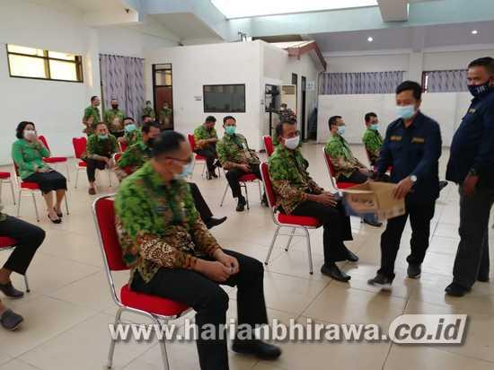 """ASN Pemkab Jember """" Saweran """" Sumbang Korban Bencana Banjir"""