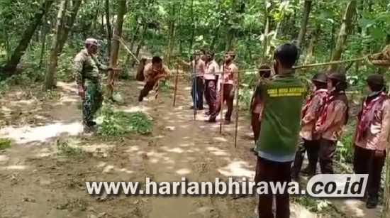 Koramil 0815/08 Dawar Dilatih Multi Terampil Daka Wira Kartika