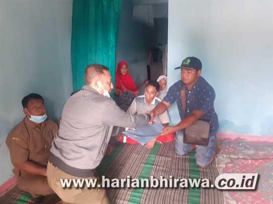 Pemkab Mojokerto Beri Santunan Duka Keluarga Muhammad Afiansyah