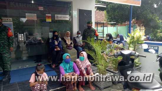 Kodim 0814 Jombang Terus Laksanakan Penegakan Prokes Secara Persuasif
