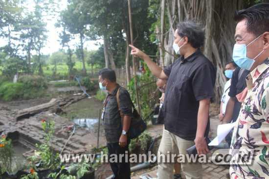 Dirjen Kebudayaan Kunjungi Situs Petirtaan Kuno Sumberbeji Jombang