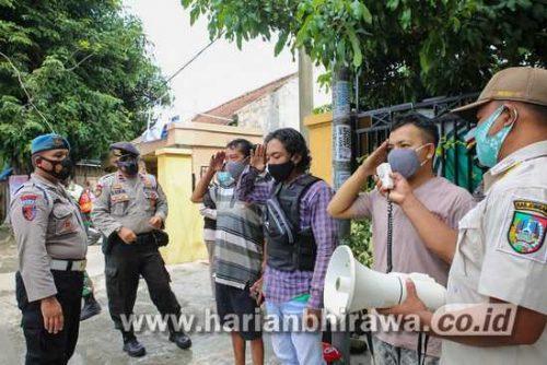 107 Pelanggar Terjaring Operasi Yustisi Prokes di Kabupaten Jombang