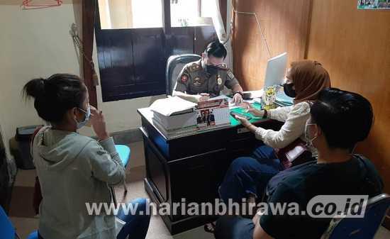 Satpol PP Tulungagung Sanksi Denda Yustisi 10 Pelanggar Prokes Pesta Ultah