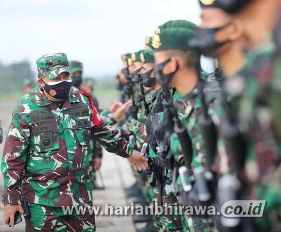 Wali Kota Madiun Antar Keberangkatan 450 Satgas Pengamanan Perbatasan