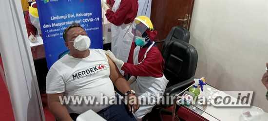 30 Anggota DPRD Kota Kediri Ikuti Vaksinasi Covid-19
