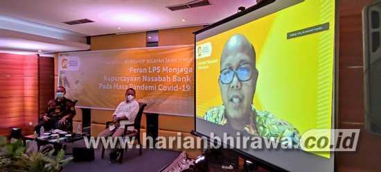 Lembaga Penjamin Simpanan Sosialisasikan Tiga T ke Warga Surabaya