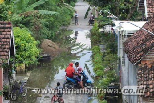 Tanggul Kritis di Kabupaten Jombang, Air Brantas Merembes ke Rumah Warga