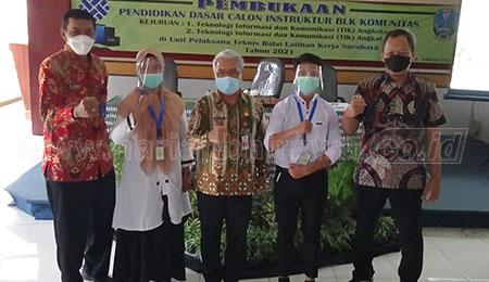 Diklat Dasar Calon Instruktur BLK Komunitas Dibuka di UPT BLK Surabaya