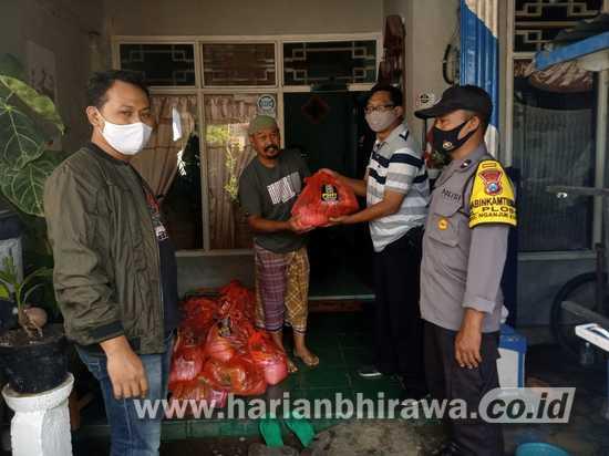 Bantuan Pemkab Nganjuk Minim, Terbantu Paket Sembako PSHT