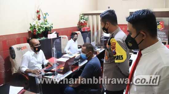 Melawan Petugas PPKM, Polres Tuban Tetapkan Pemilik Cafe sebagai Tersangka