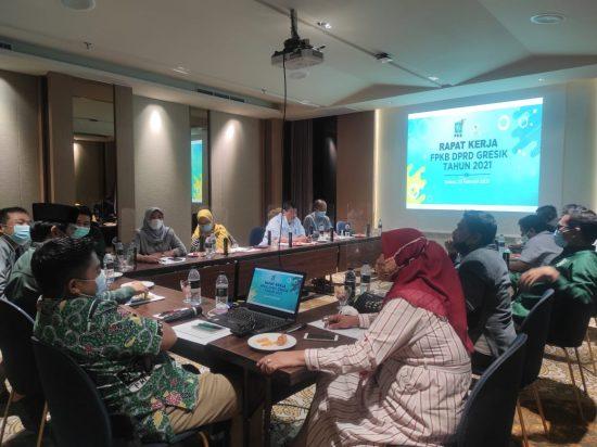 Rapat Kerja Fraksi PKB, Empat Komisi Kawal Kinerja Pemkab Gresik